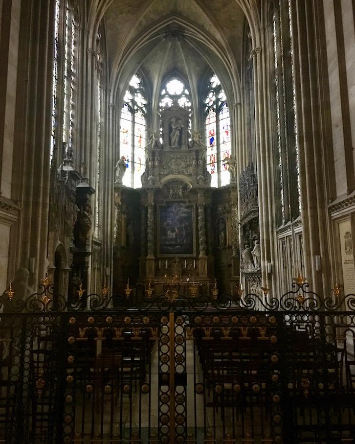 Marienkapelle Notre-Dame Rouen Normandie Frankreich
