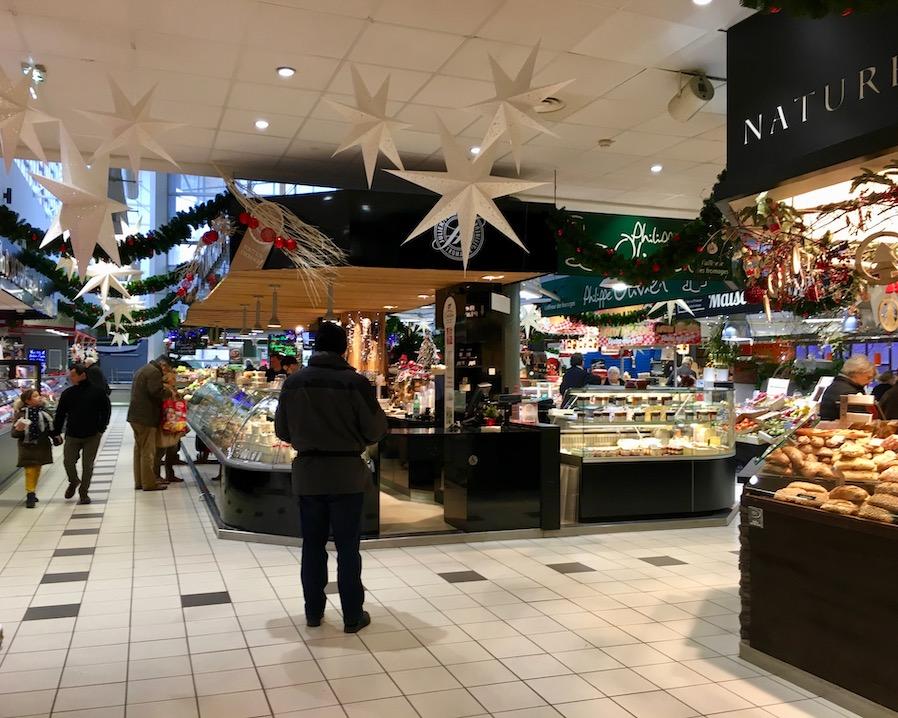 Markthallen Amiens Normandie Frankreich