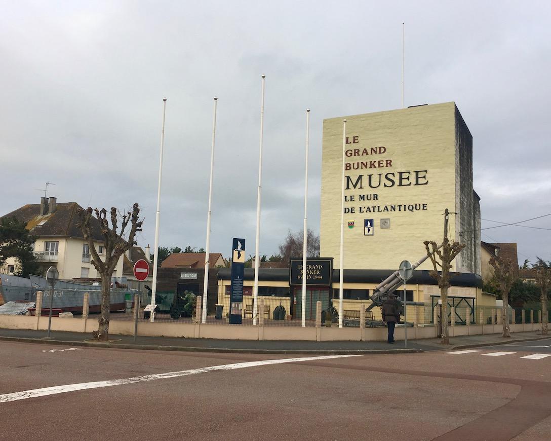 Museum du Grand Bunker Ouistreham Normandie Frankreich