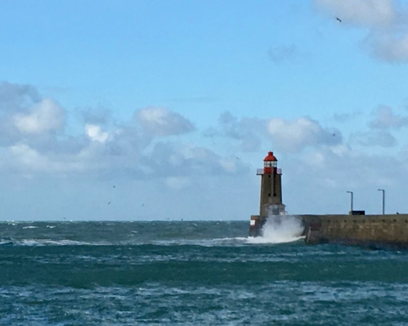 Leuchtturm Saint-Valery-en-Caux Normandie Frankreich
