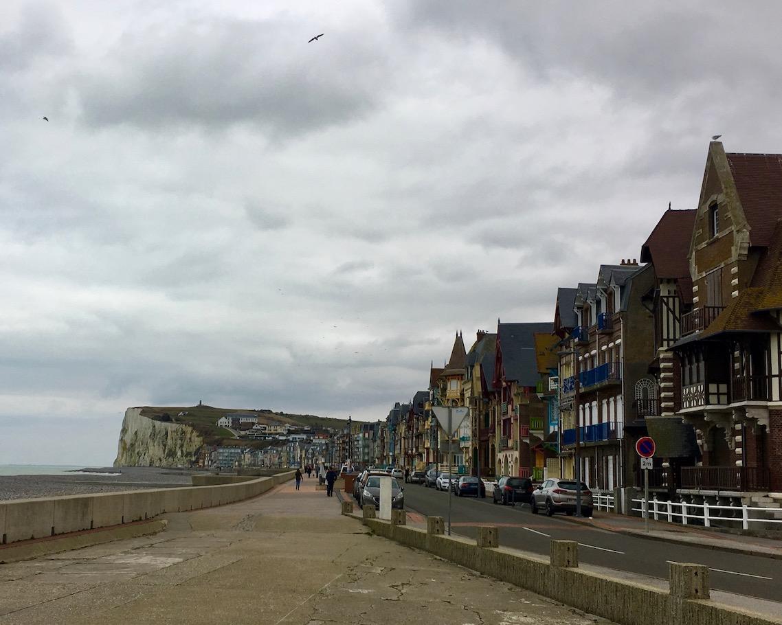 Mers-les-Bains alte Villen  bei Le Tréport Normandie Frankreich