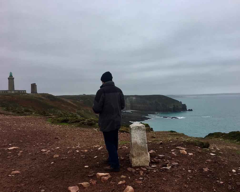 Sicht auf Cap Fréhel Bretagne Frankreich