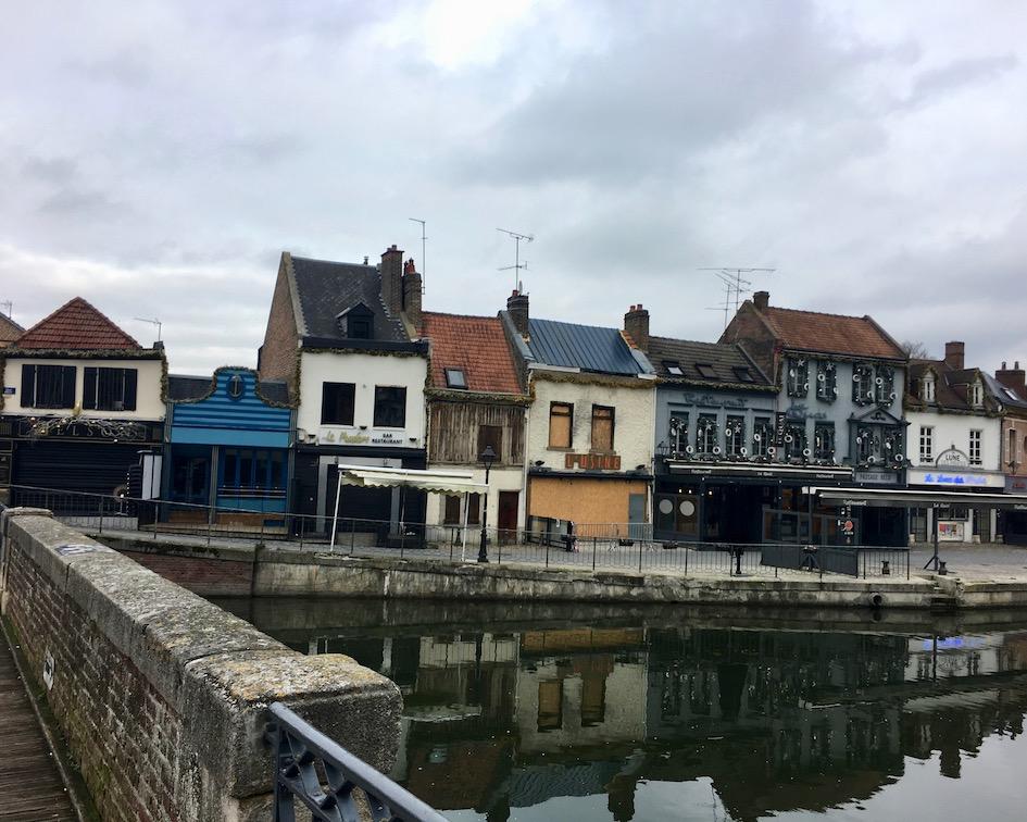 Quartier Saint-Leu ehemaliges Handwerkerviertel Amiens Normandie Frankreich