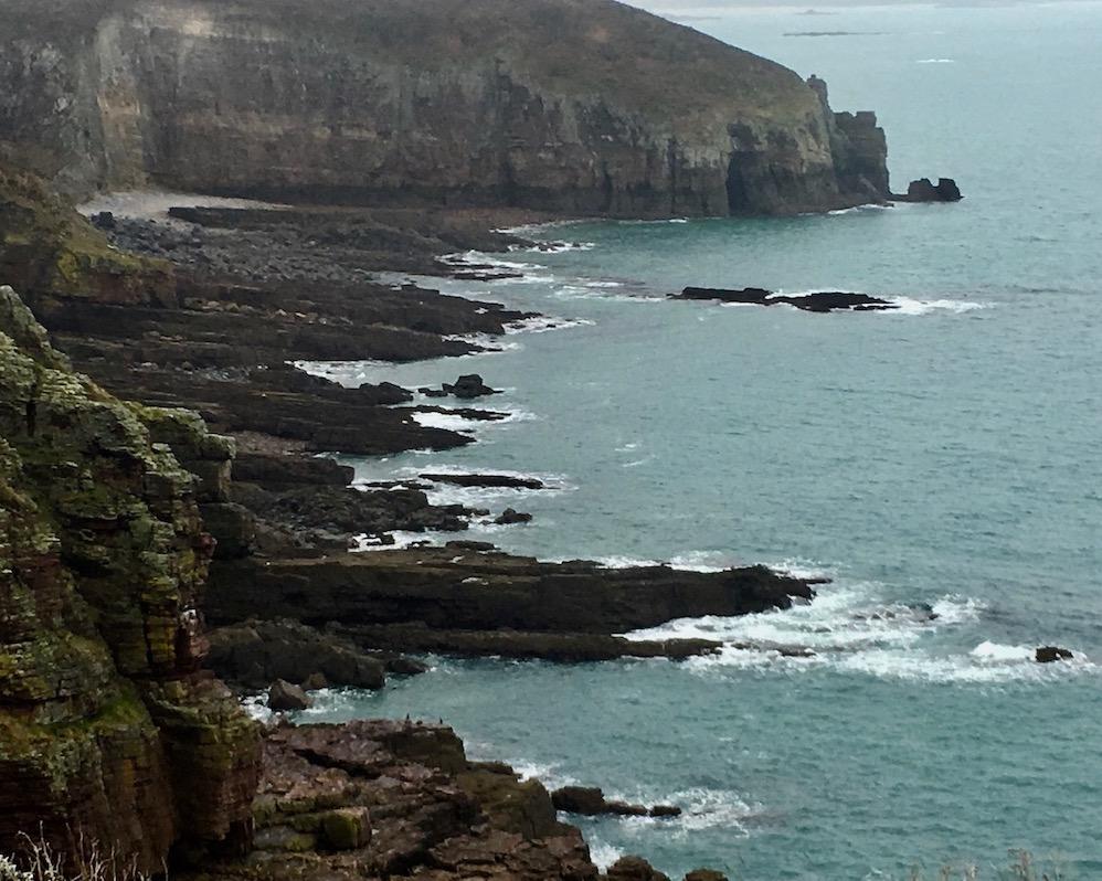 Strand Cap Fréhel Bretagne Frankreich