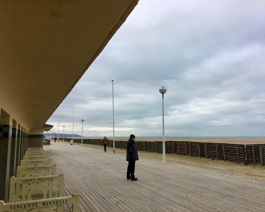 Strand Deauville Normandie Frankreich