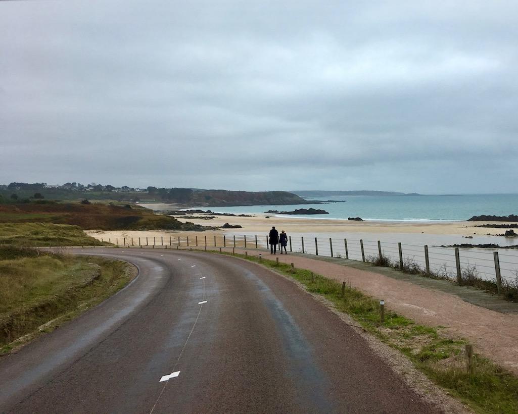 Strand Richtung Erquy Bretagne