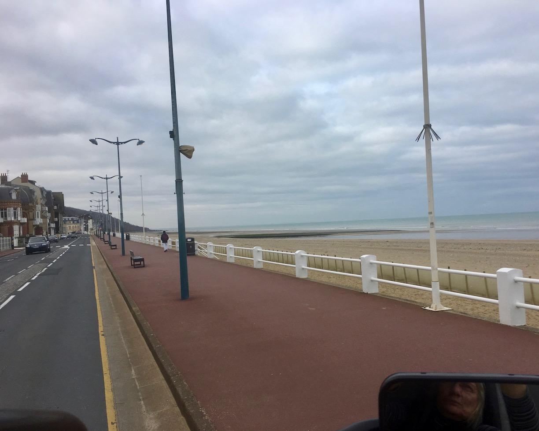 Strand bei Blonville-sur-Mer Normandie Frankreich