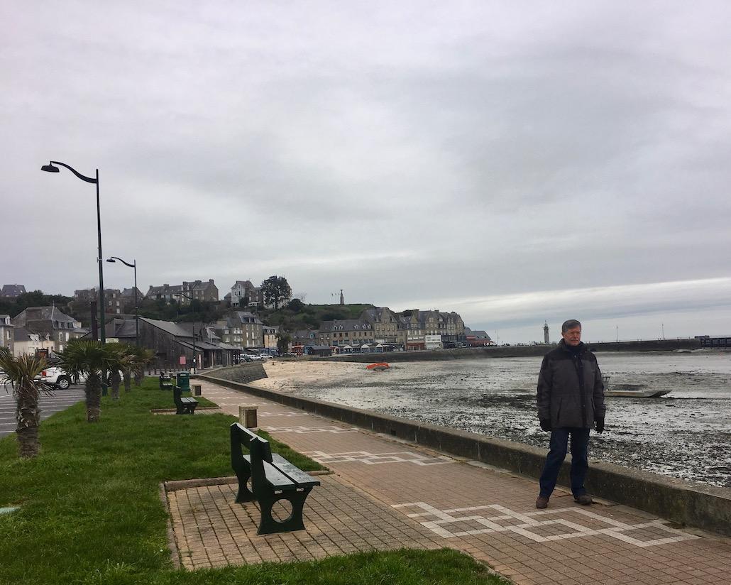 Strandpromenade Cancale Bretagne
