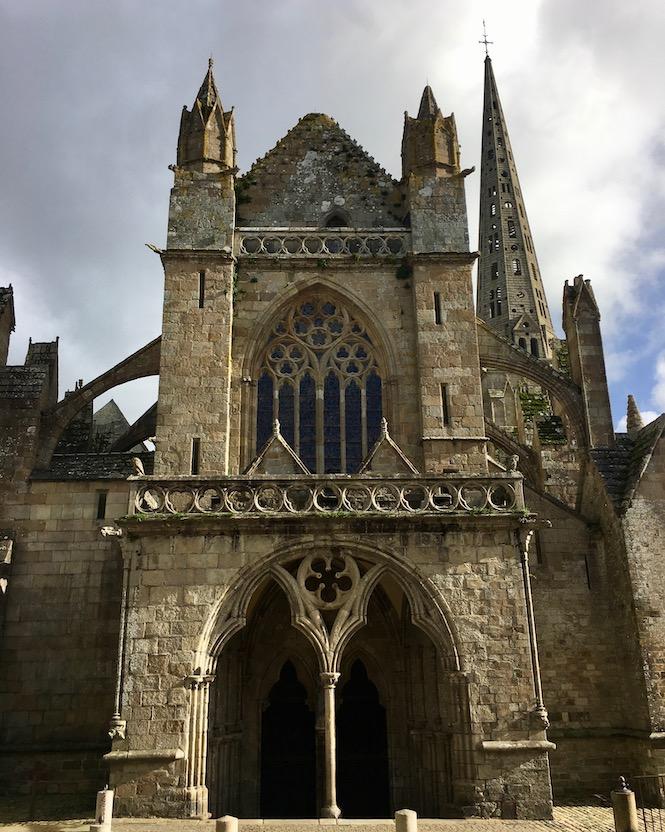 Westportal Kathedrale Saint-Tugdual Tréguier