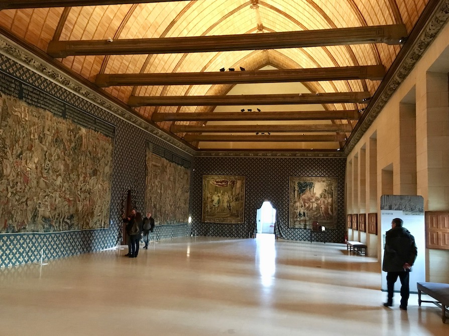 Festsaal Palais du Tau in Reims Weltkulturerbe