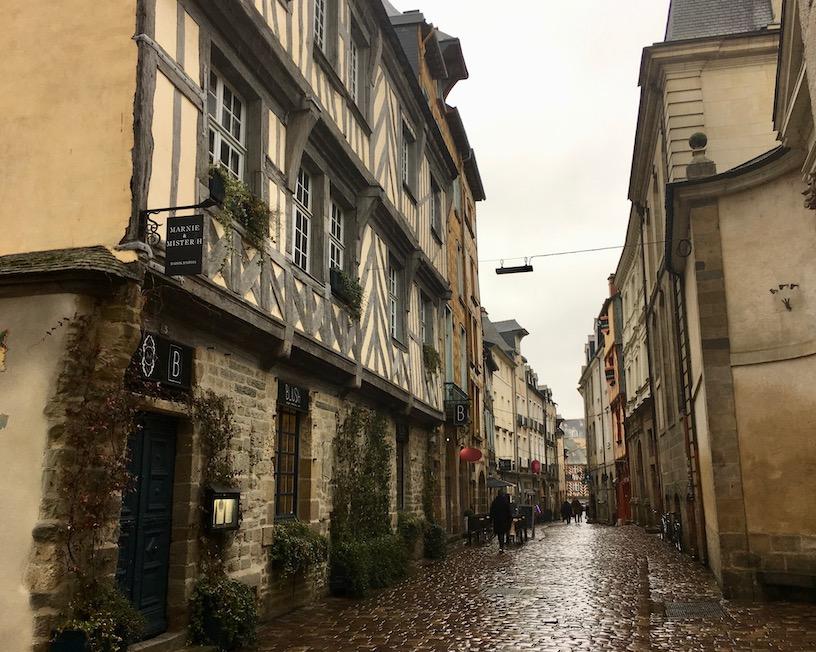 Lannion Bretagne Altstadt
