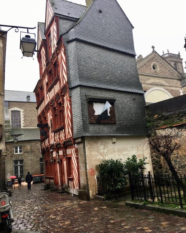 Rennes Bretagne Haus Ti Koz altes Haus