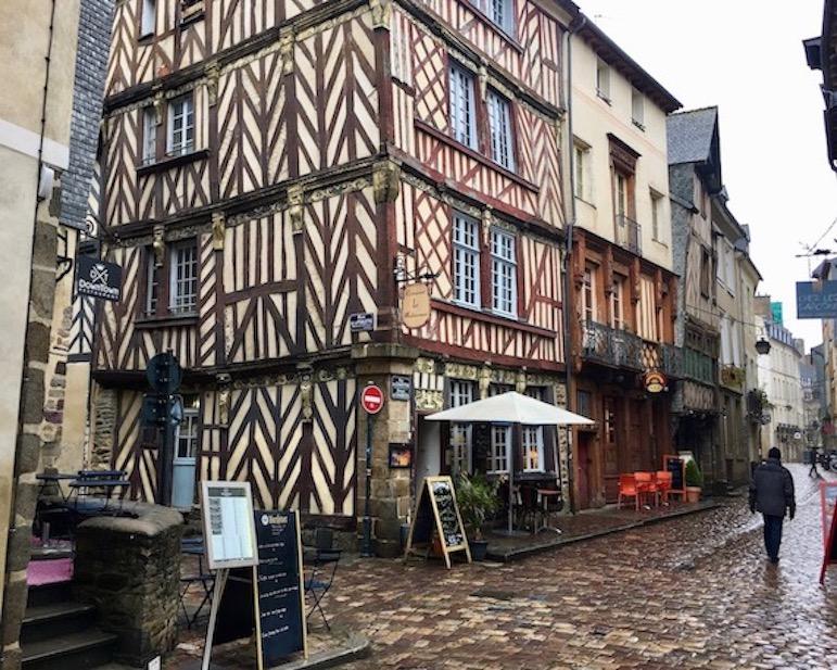 Rennes Bretagne Rue du Chapitre Altstadt