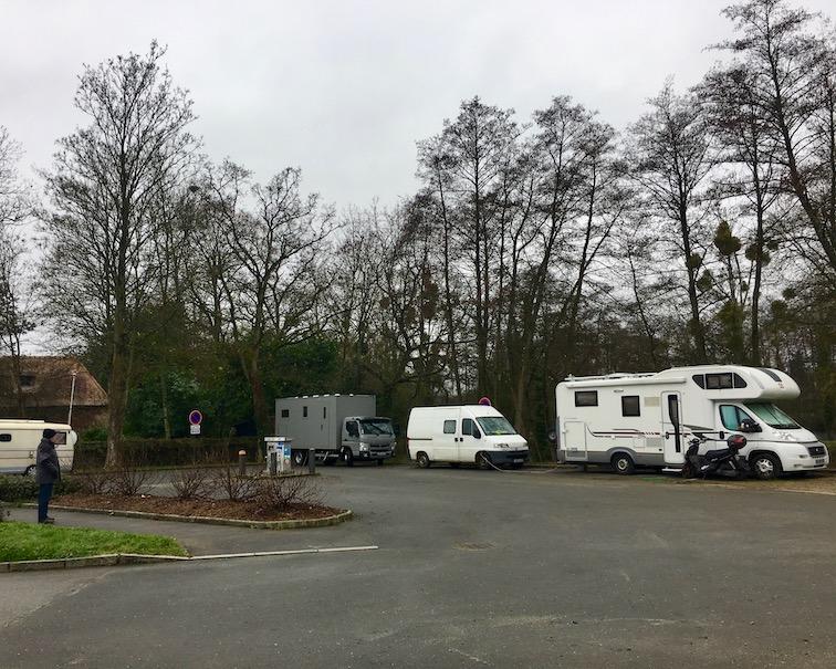 Wohnmobilstellplatz Cesson-Sevigne für mole-on-tour bei Rennes