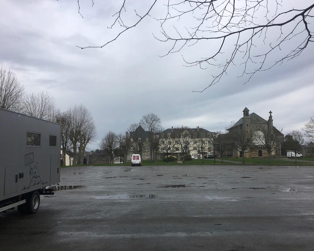 Wohnmobilstellplatz Josslin Bretagne mole-on-tour