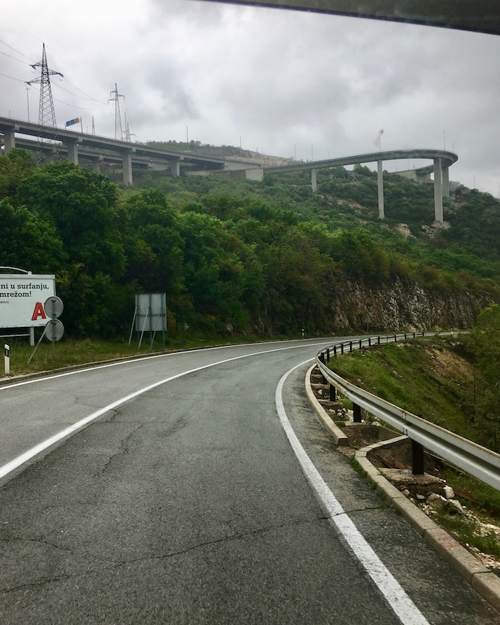 Autobahn über Rijeka