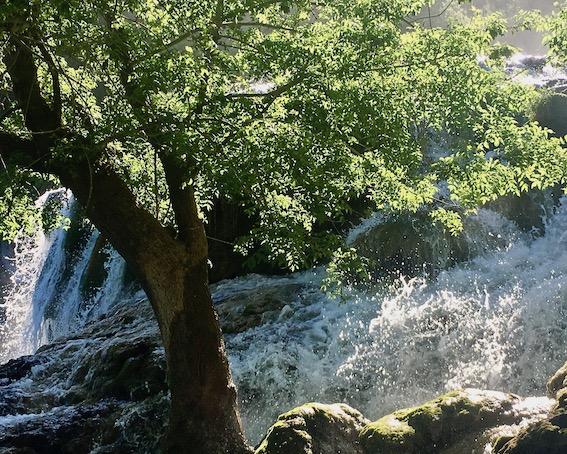 Krka-Wasserfälle Nationalpark-Krka Skradin Kroatien Der Skradinski-Buk Krka Wasserfälle