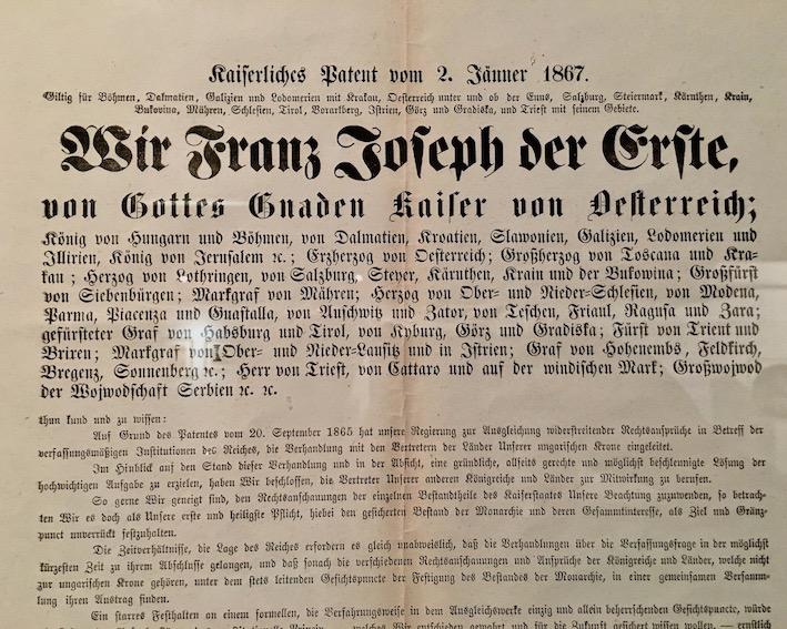 Kaiserliches Patent