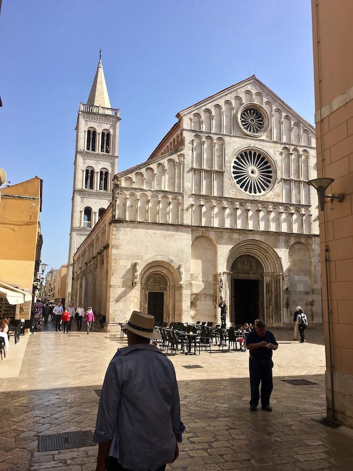 Zadar Altstadt Dalmatien Kroatien Kathedrale von St. Anastasia in Zadar