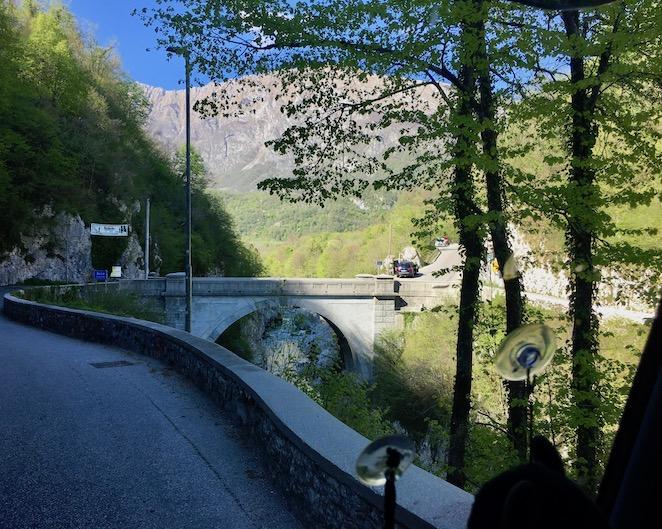 Napoleonbrücke bei Kobarid