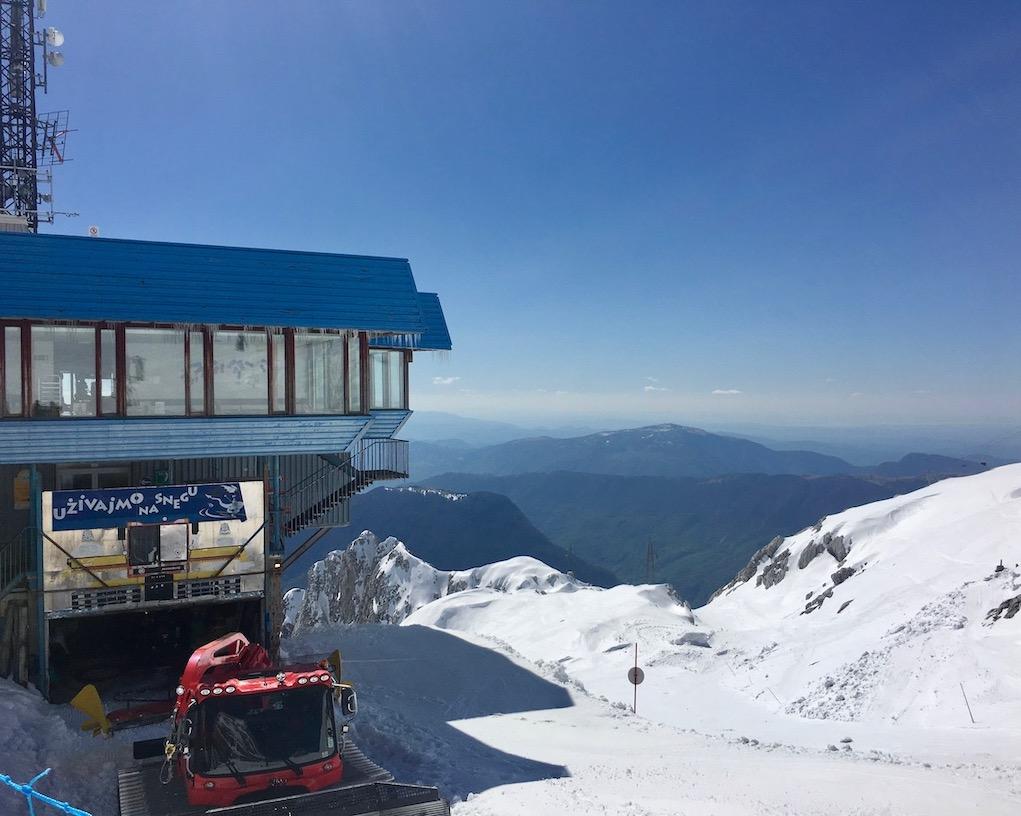 Restaurant an der Bergstation Kanin