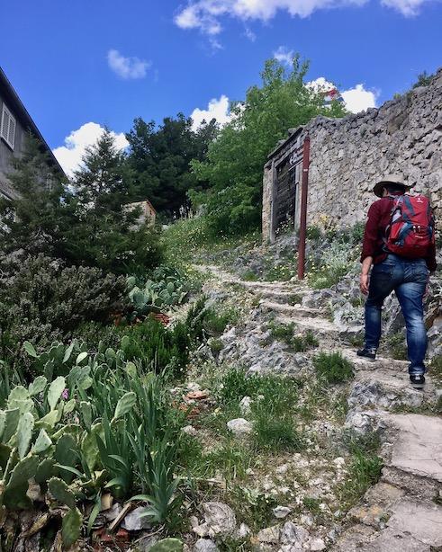Richtung Burg von Skradin Kroatien