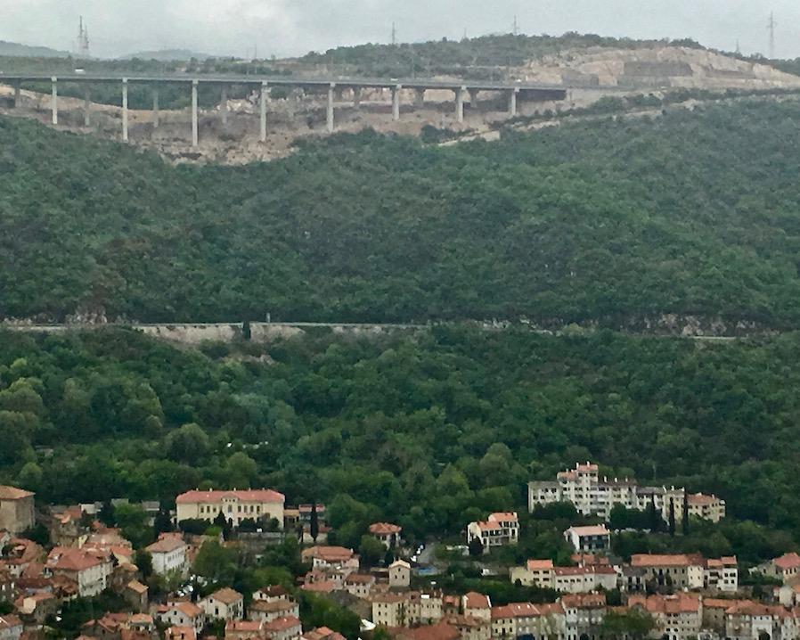 Rijeka Autobahn Kroatien