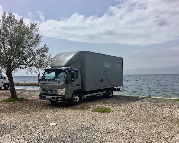 Wohnmobilstellplatz mole-on-tour in Senji Kroatien Kamp Skver