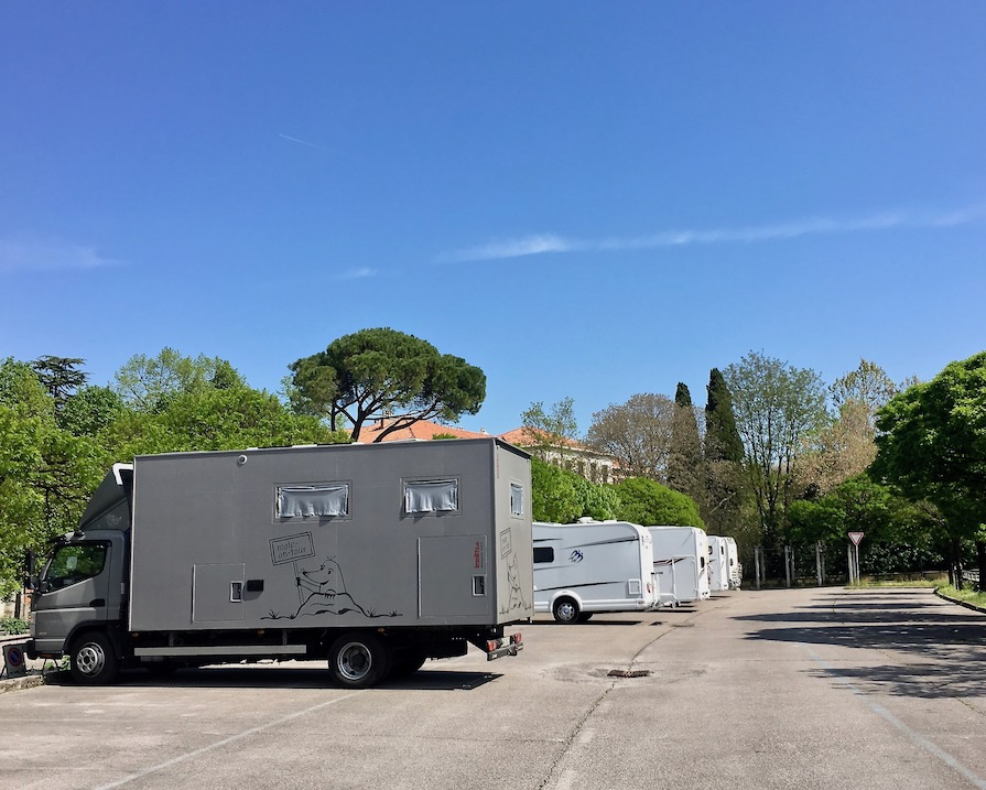 mole-on-tour Wohnmobilstellplatz in Görz Italien