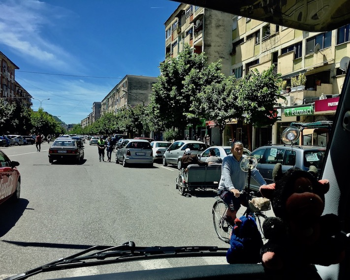 Verkehr Albanien