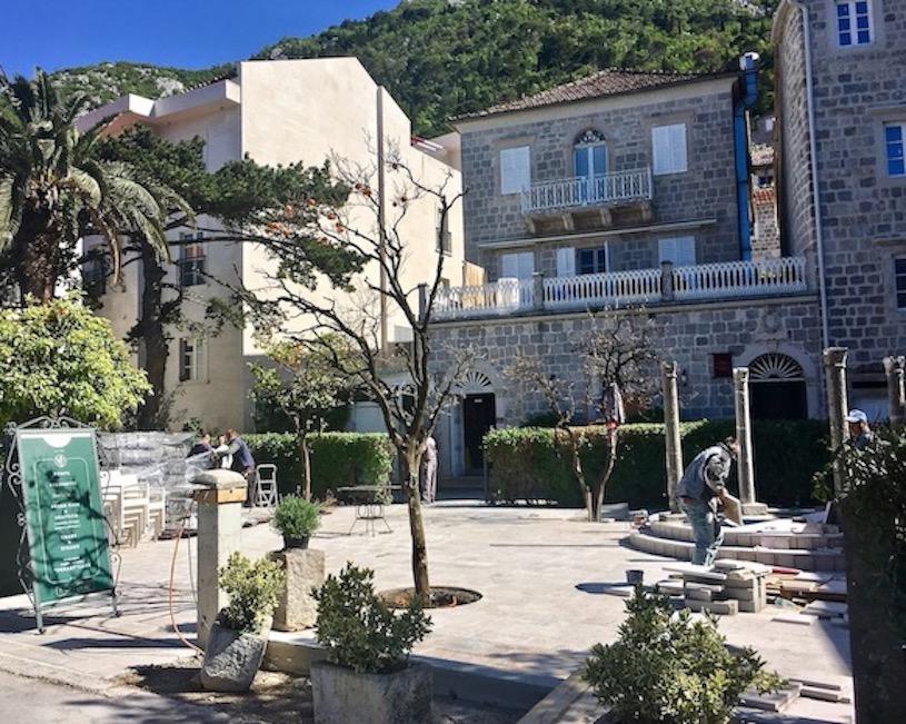 Altstadt Perast Kotor-Bucht Montenegro