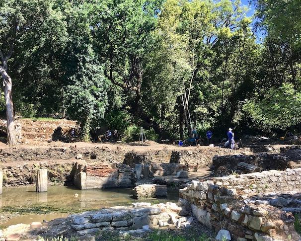 Ausgrabungen in Butrint Albanien