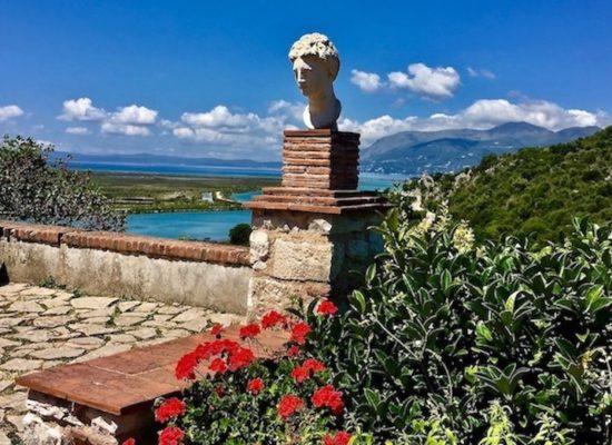 Butrint Albanien Weltkulturerbe Büste der Venus von Butrint Albanien