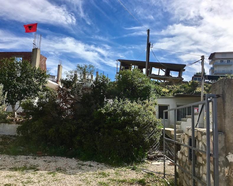 Bauruinen in Albanien
