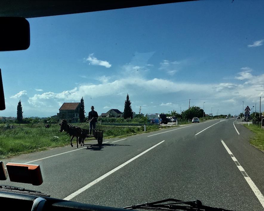 Ben Hur in Shkodra Albanien