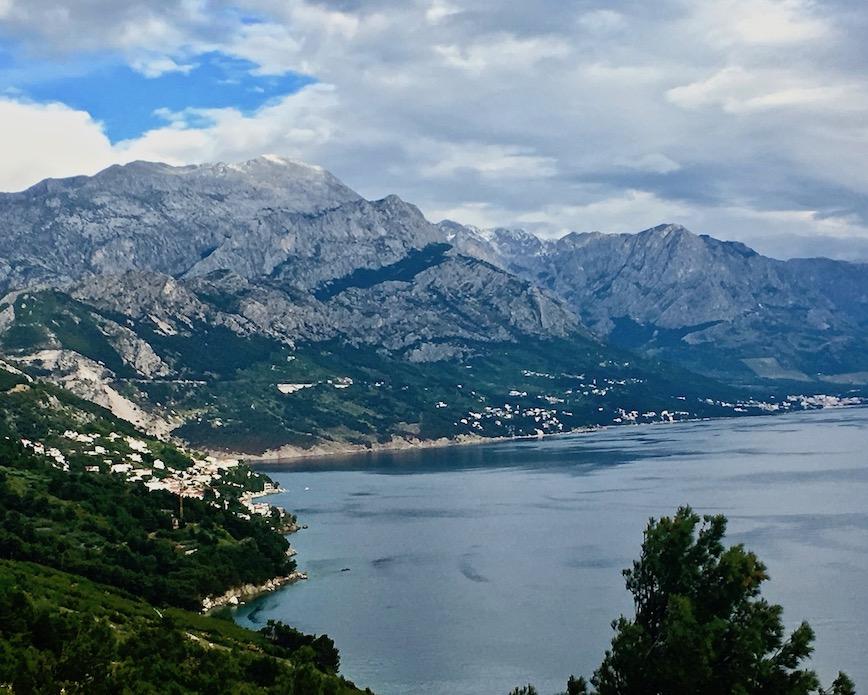 Biokovo-Gebirge bei Makarska