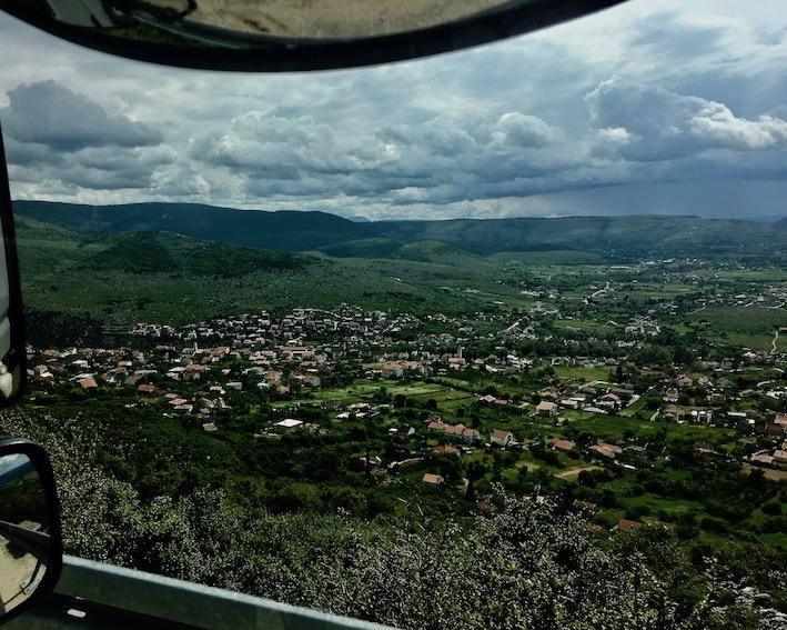 Blagaj Bosnien-Herzegowina von oben