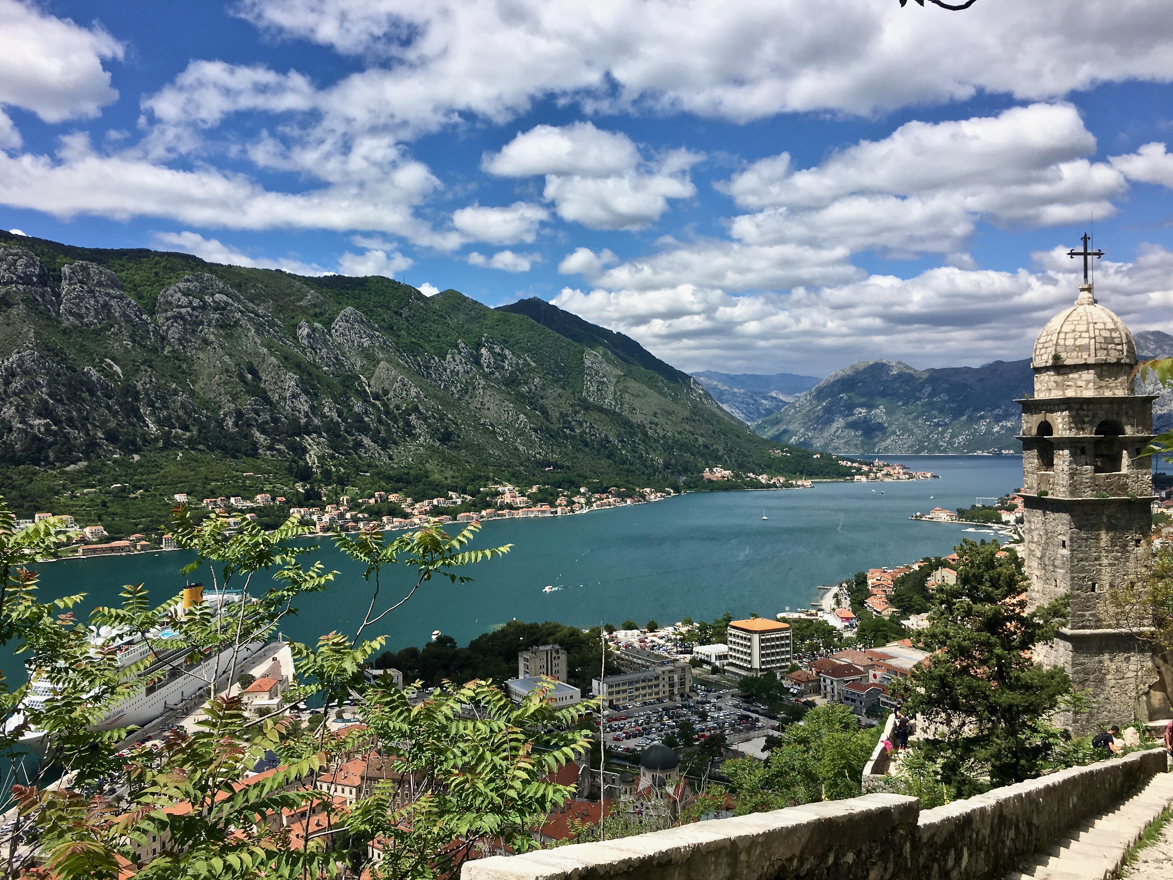 Bucht von Kotor in Montenegro