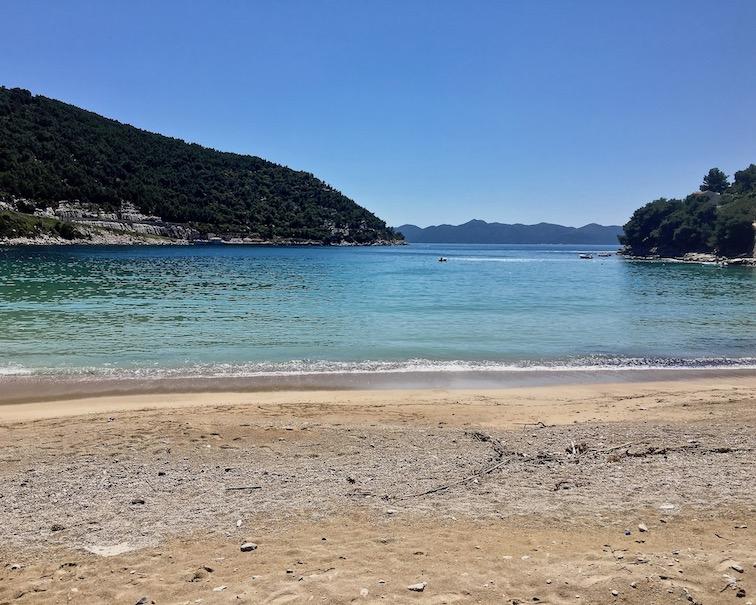 Bucht von Prapratno Kroatien