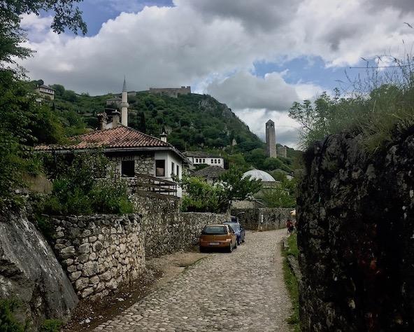 Burg Pocitelj Bosnien-Herzegowina