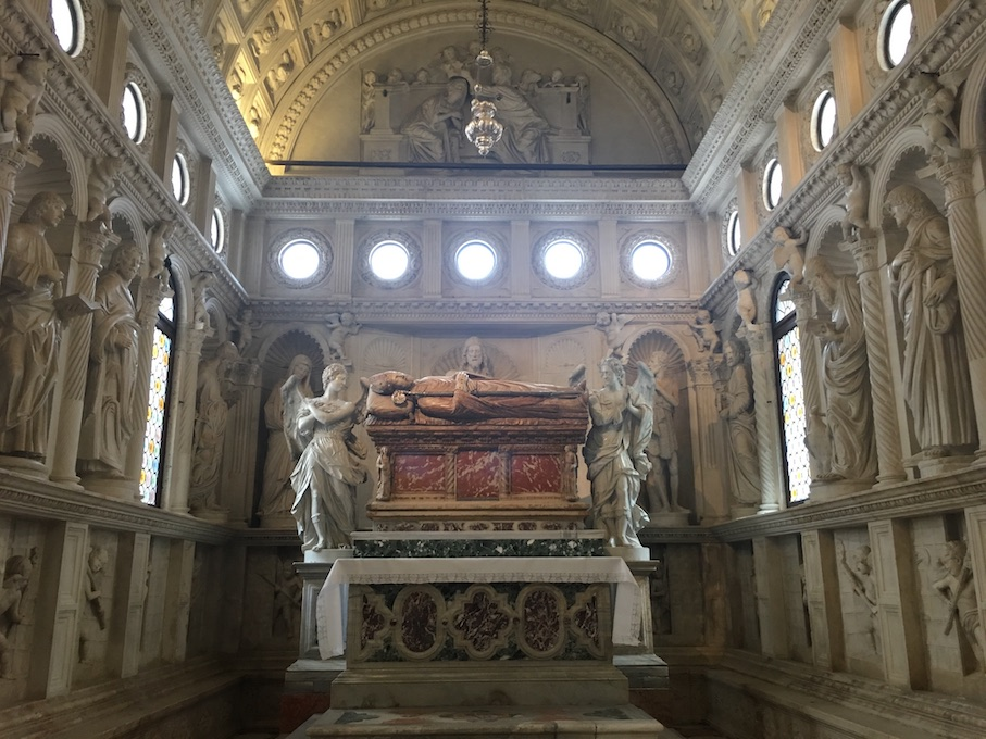 Trogir Kroatien Historische-Altstadt UNESCO-Weltkulturerbe Adriaküste Kroatien Die Kapelle des hl.Johannes in Kathedrale von Trogir Kroatien