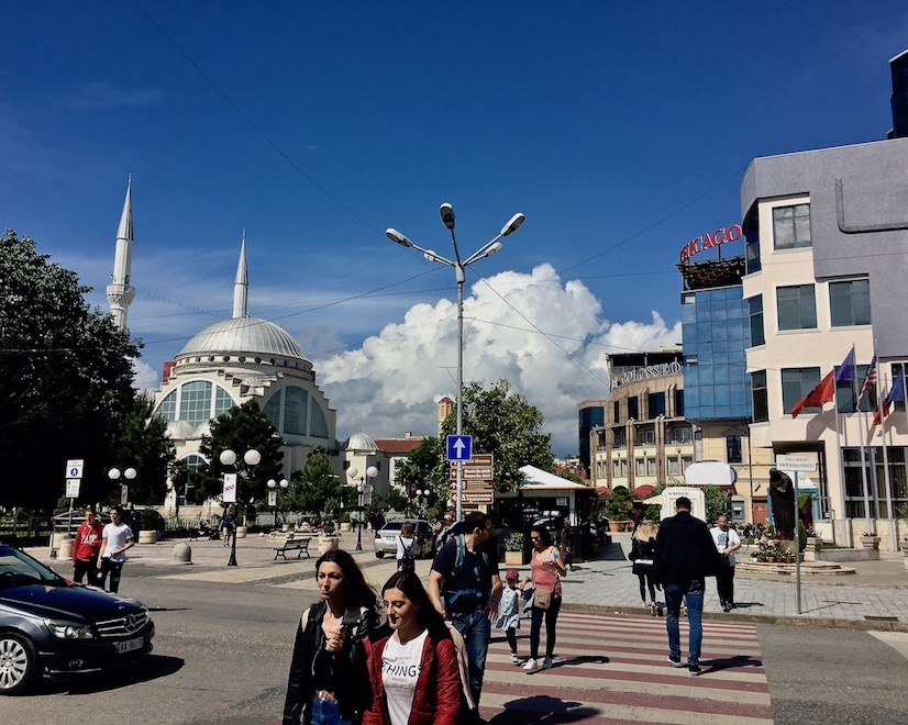 Ebu-Bekr-Moschee in Shkodra Albanien