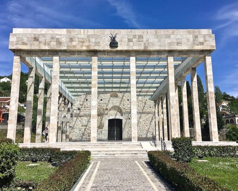 Gedenkstätte Skanderberg in Lezha Albanien