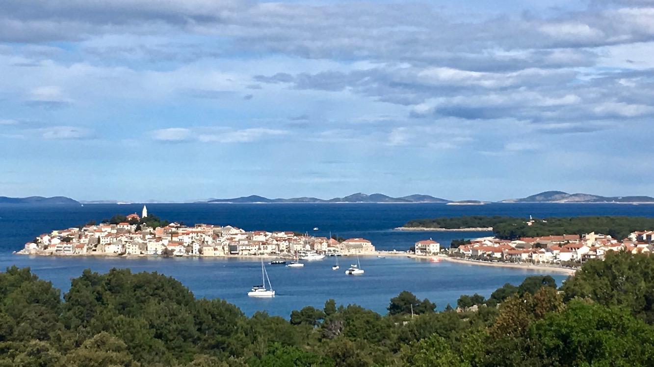 Halbinsel Primosten Kroatien