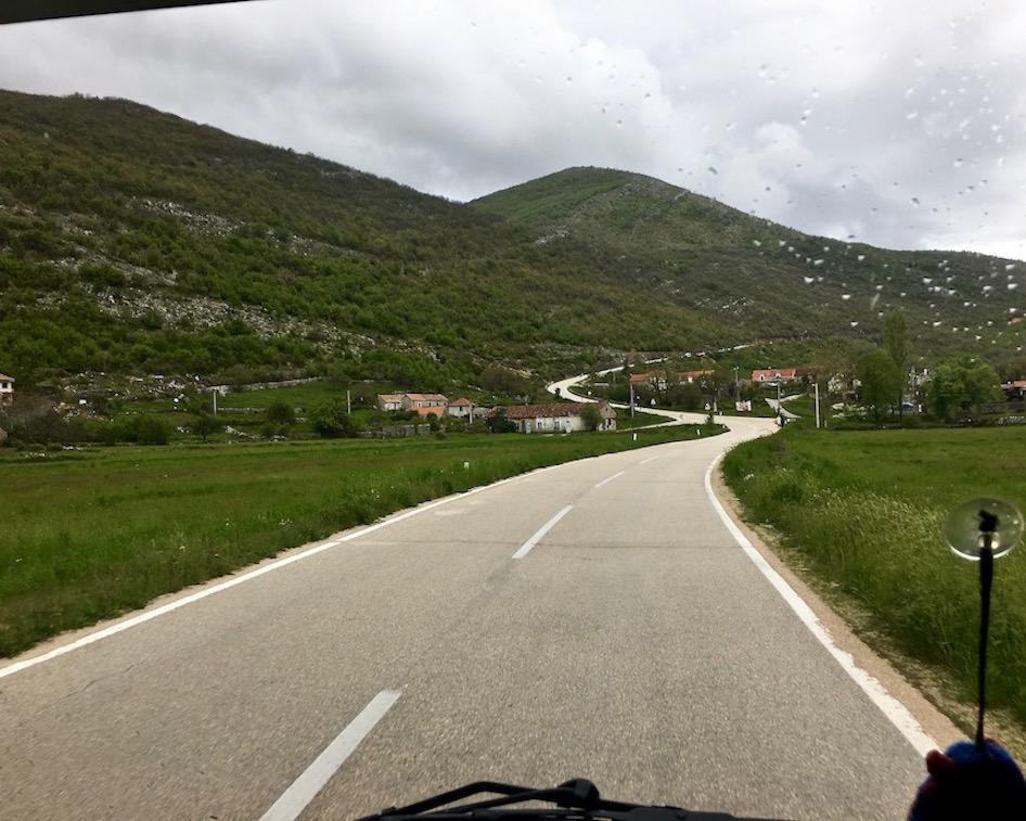 Hochebene bei Grab Bosnien-Herzegowina