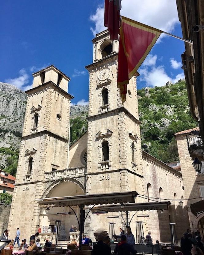 Kathedrale des Hl.Tripun in Kotor Montenegro