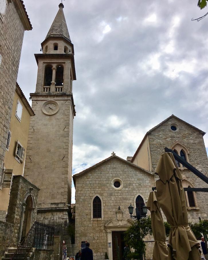 Kirche des St.Johannes in Budva Montenegro