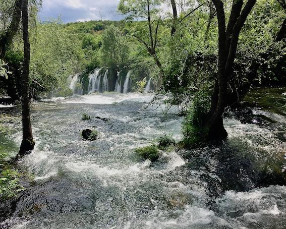 Kravica Wasserfälle bei Ljubuski Bosnien-Herzegowina