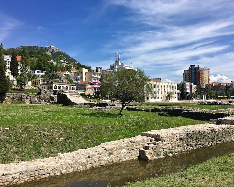 Lezha in Albanien