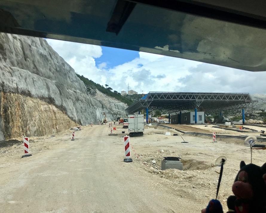 Neuer Kroatischer Grenzübergang Ivanica-Brgat